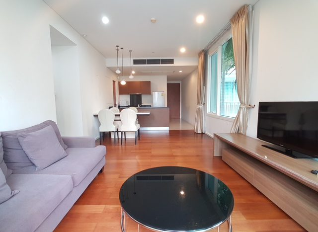 Two bedroom condo for rent in Asoke - Sofa