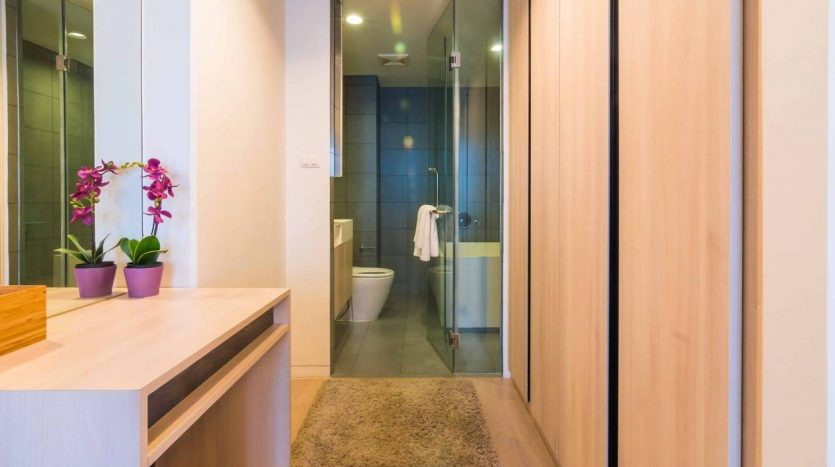Stylish two bedroom condo for rent in Ari - Wardrobe