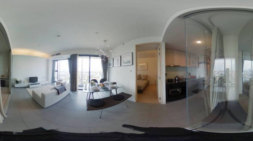 Stylish two bedroom condo for rent in Ari - Full unit