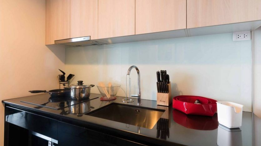 Stylish two bedroom condo for rent in Ari - Kitchen