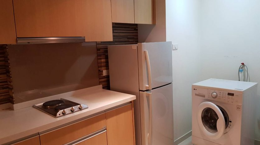 One bedroom condo for rent in Ratchathewi - Washing machine