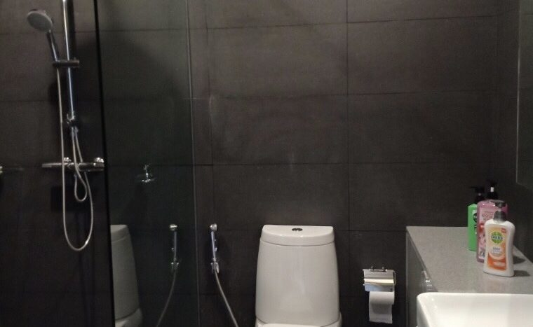 Two bedroom condo for rent in Ploenchit - Toilet