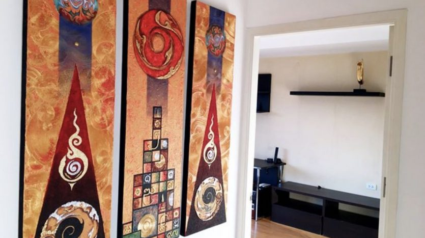 One bedroom condo for rent in Ari - Painting