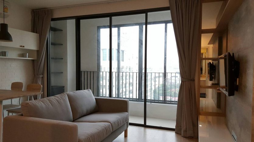 Two bedroom condo for rent in Ratchathewi - View