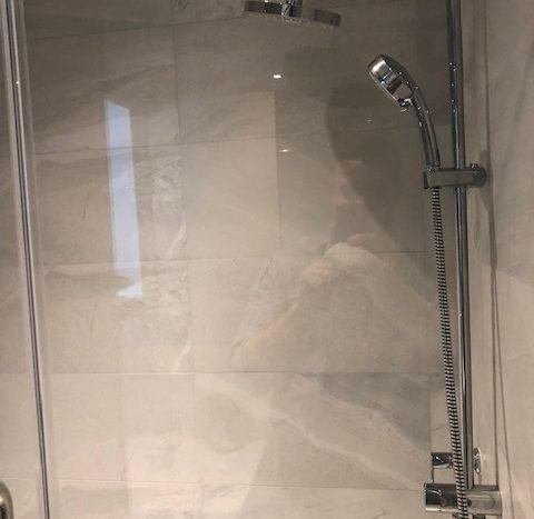 Two bedroom condo for rent in Ekamai - Shower