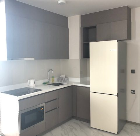 Two bedroom condo for rent in Ekamai -  Kitchen