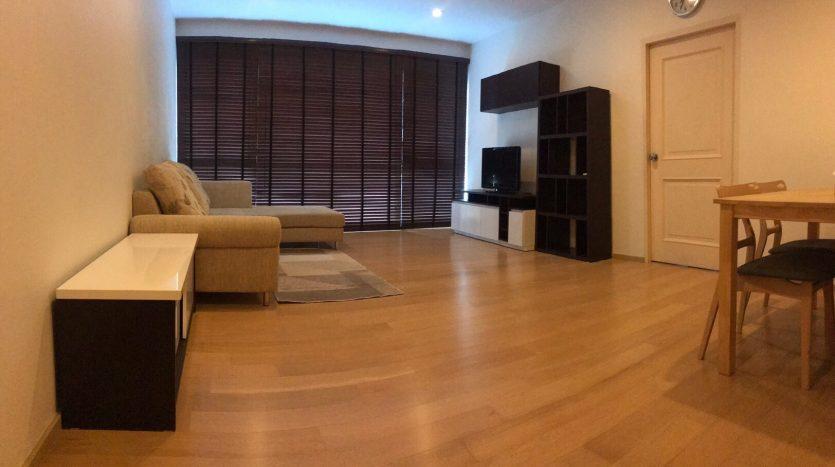 Living room - One bedroom condo for rent in Ari