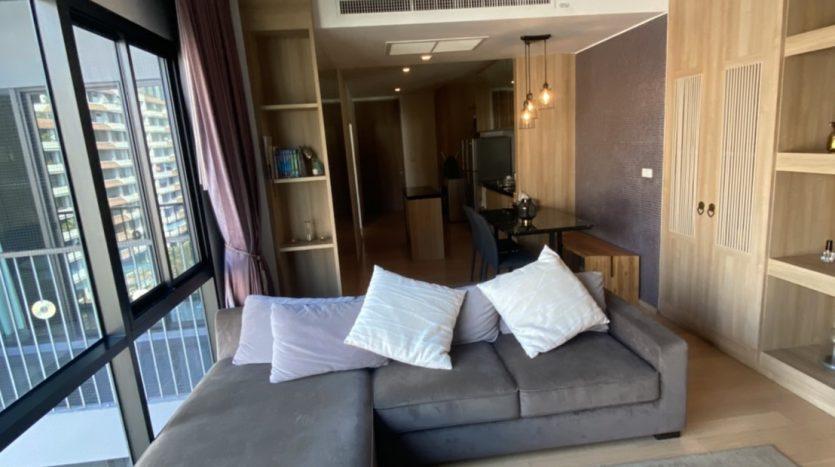 One bedroom condo for rent in Ari - Living area