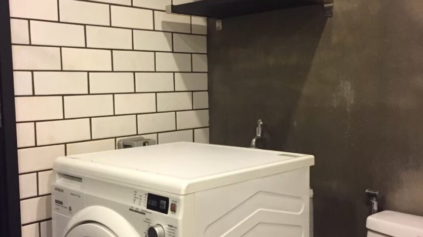 Studio for rent in Thonglor - Washing machine
