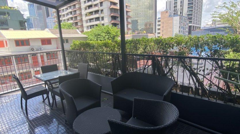 One bedroom condo for rent in Ari - Terrace