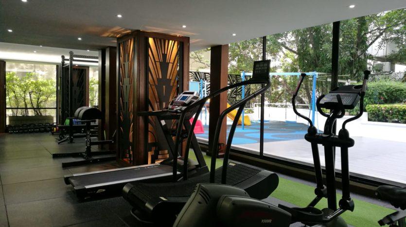 Three bedroom apartment for rent in Langsuan - Gym
